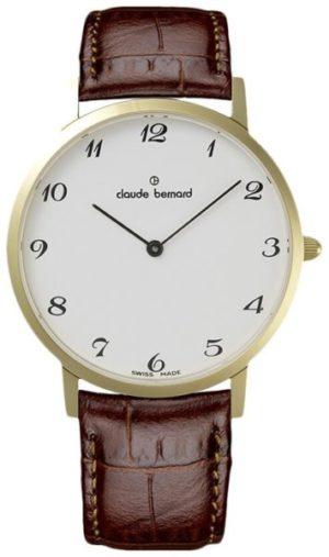 Claude Bernard 20202-37JBB Classic Slim Line