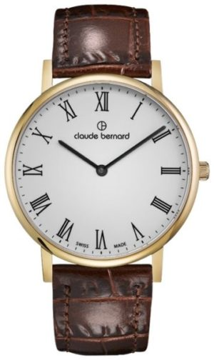 Claude Bernard 20214-37JBR Classic Slim Line