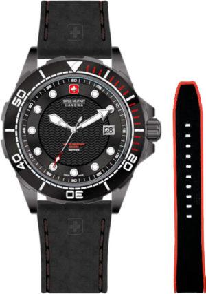 Swiss Military Hanowa 06-4315.7.13.007SET Navy Neptune Diver